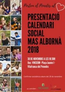 presentació calendari2018